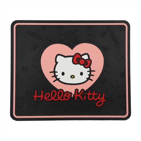 My Cool Car Stuff Hello Kitty Hearts Rear Mat Hello Kitty
