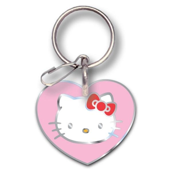 Picture of Hello Kitty Enamel Heart Key Chain