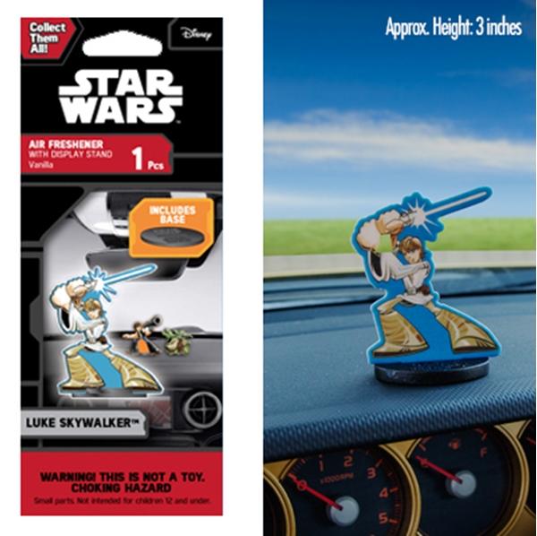 Picture of Star Wars Luke Skywalker Shortys™ Air Freshener