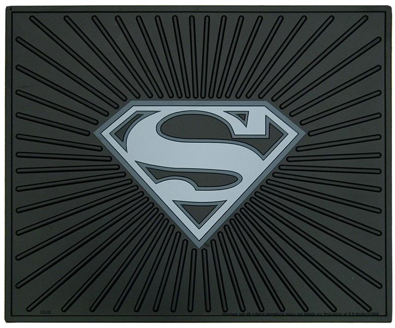 Superman Rear Mat: Superman Car
