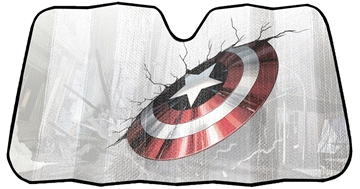Picture of Marvel Captain America Accordion Sunshade