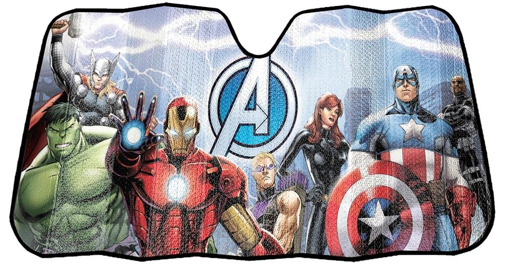 My Cool Car Stuff Marvel Avengers Accordion Sunshade