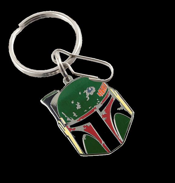 Star Wars Boba Fett Enamel Keychain