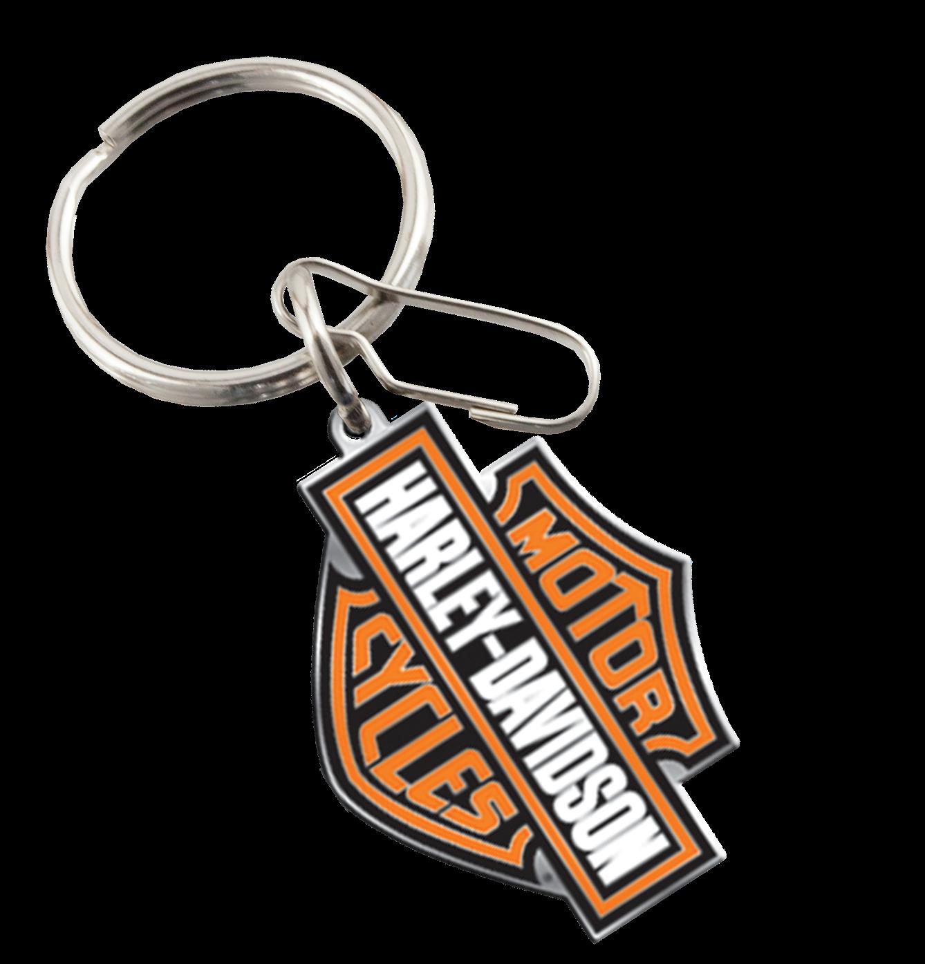 My Cool Car Stuff Harley Davidson 174 Enamel Key Chain
