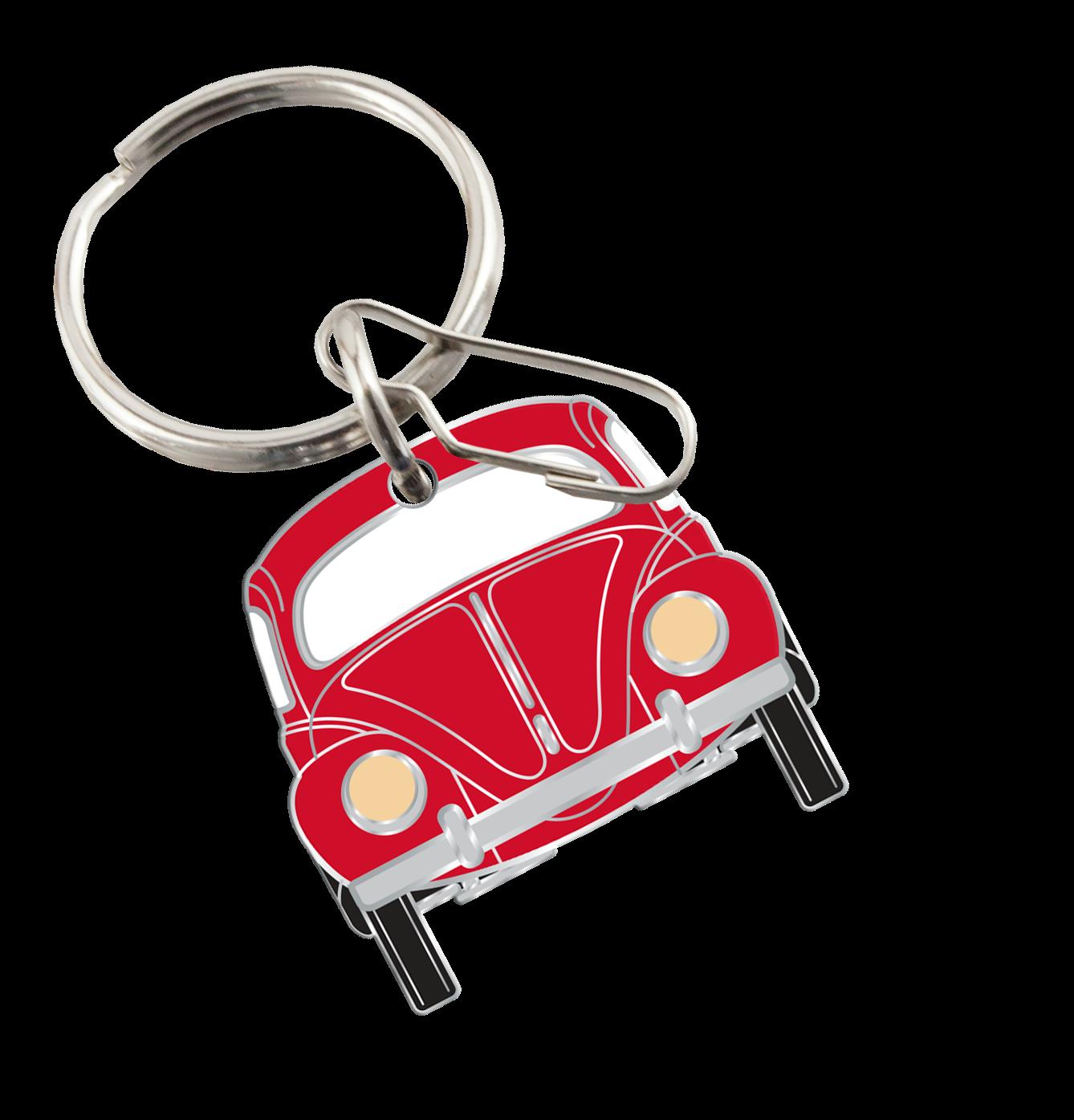 My Cool Car Stuff Volkswagen Classic Bug Enamel Key Chain