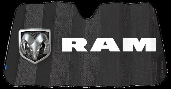 Picture of RAM Black Matte Accordion Sunshade