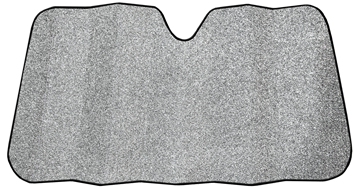 Picture of WeatherPro™ White Ice Glitter Accordion Sunshade