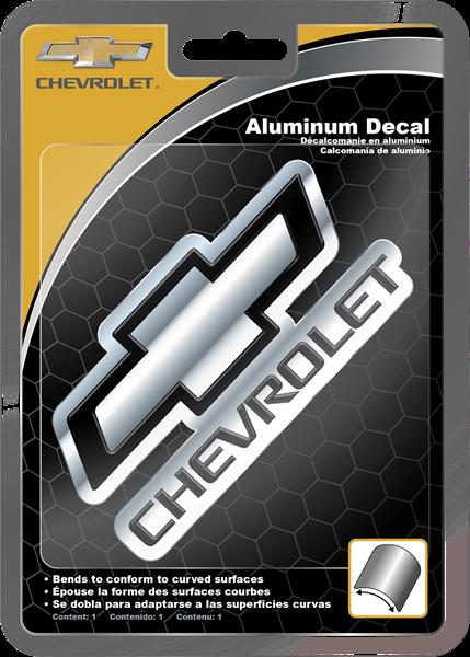 Picture of Chevrolet Aluminum Decal