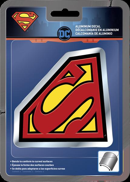 Picture of Superman Aluminum Decal