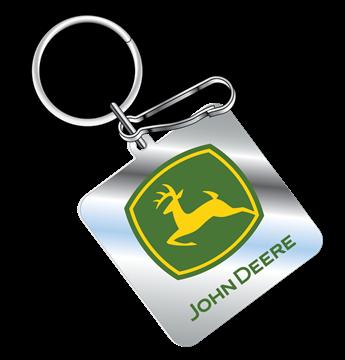 Picture of John Deere Enamel Key Chain